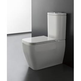 Pristatomas klozetas T EOREMA 2.0 MONOBLOCK CLEAN FLUSH WC