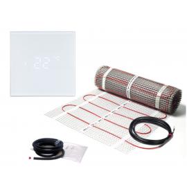 Elektrinis šildymo kilimėlis DEVIcomfort 150T + termostatas Sensus LC1