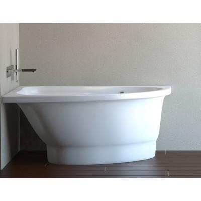 Akmens masės vonia Mia 1400x900 Vispool