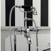 Vonios maišytuvas su dušo komplektu Kerasan Retro