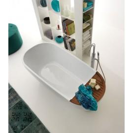 Akmens masės vonia Kerasan Aquatech