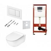 Potinkinio rėmo TECE ir pakabinamo klozeto Flaminia su Go Clean funkcija komplektas