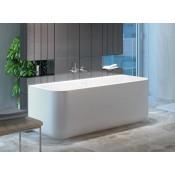 Xonyx akmens masės vonia GAMMA 160 balta matinė