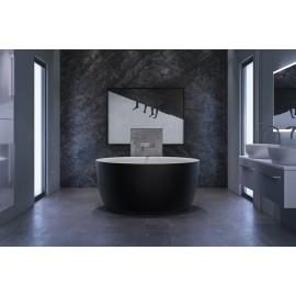 Xonyx akmens masės vonia ALLURE balta  matinė