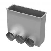 Grotelių dėžutė - 300x100-3x75 / ant grindų