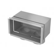 Grotelių dėžutė - 200x100-2x75 / ant sienos/ant lubų