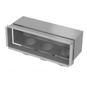 Grotelių dėžutė - 300x100-3x75 / ant sienos/ant lubų