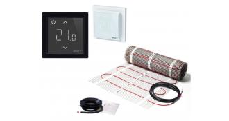 Elektrinis šildymo kilimėlis DEVImat 150T + išmanus termostatas Devi Smart