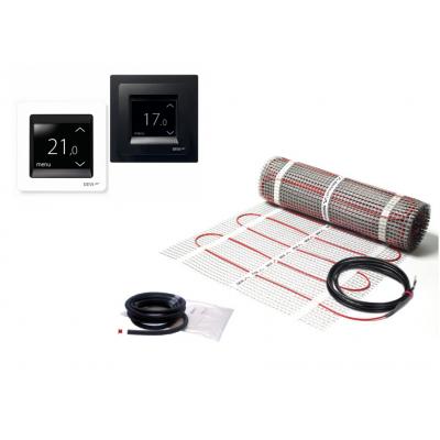 Elektrinis šildymo kilimėlis DEVImat 150T + išmanus termostatas DEVIreg touch