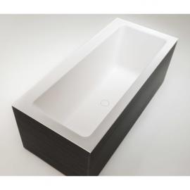 Xonyx akmens masės vonia PLANO balta matinė