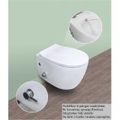 WC pakabinamas SENTIMENTI su bidė funkcija,bekantis
